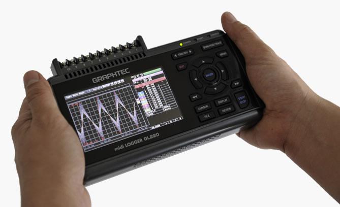 Gl220 Midi Data Logger : Graphtec gl express instrument hire