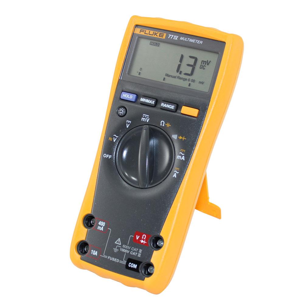 Fluke 77 Multimeter : Fluke express instrument hire