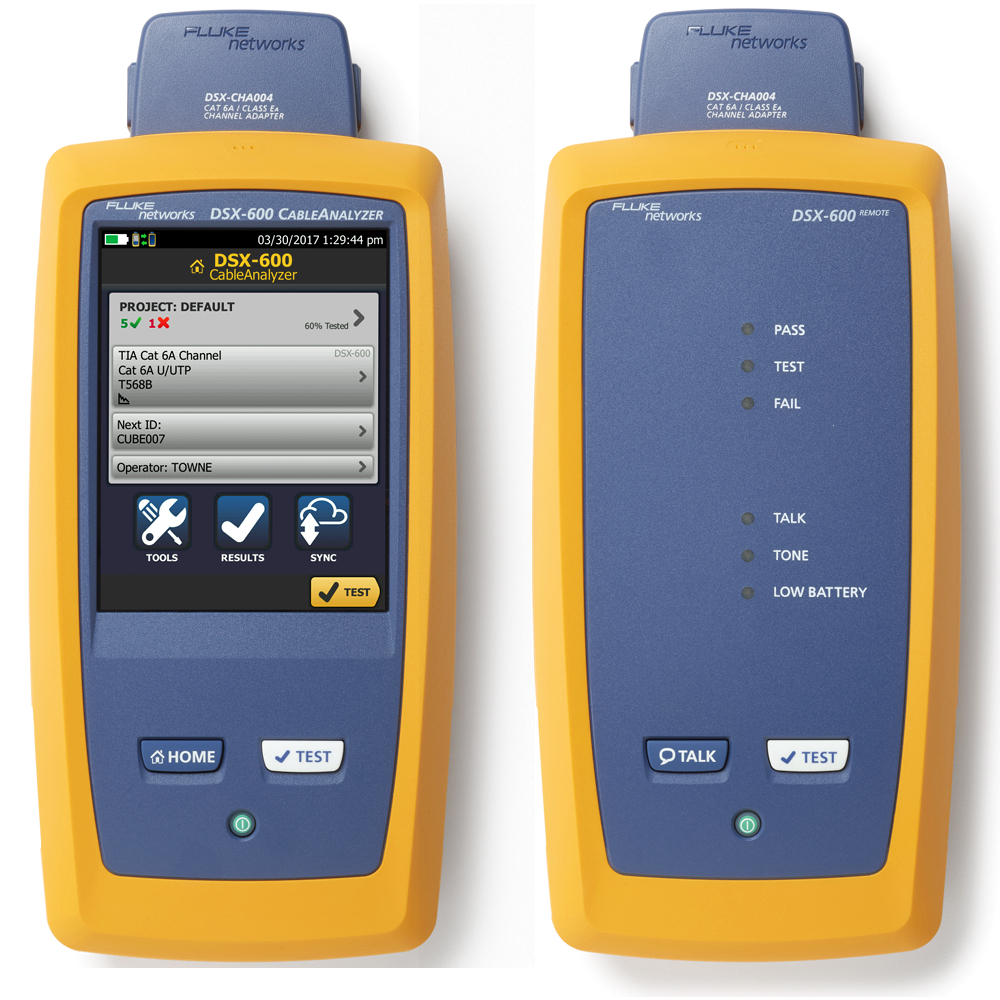 FLUKE DSX-600 Hire - Express Instrument Hire